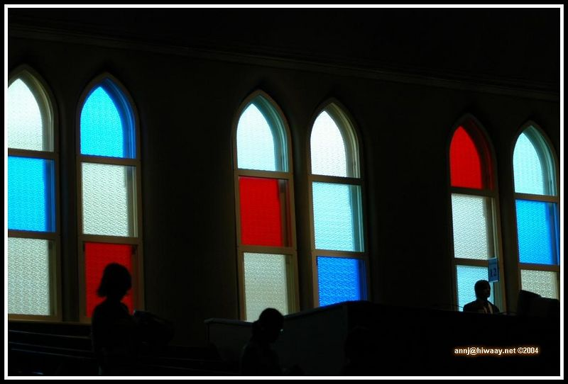 A shot of the Ryman windows...