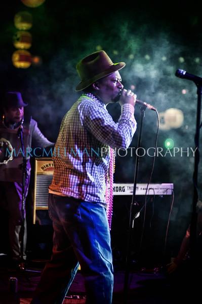 Kermit Ruffins & BBQ Swingers Hiro Ballroom (Sun 2 19 12)