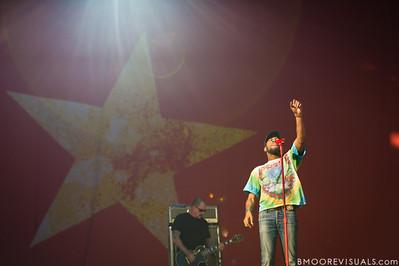 KiD CuDi performs at The Citrus Bowl in Orlando, Florida during Orlando Calling on November 12, 2011