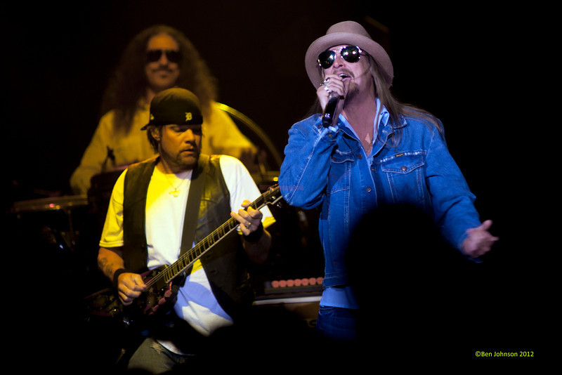 Kid Rock performing in The Ovation Hall at The Revel Hotel Casino in Atlantic City New Jersey, June 02, 2012