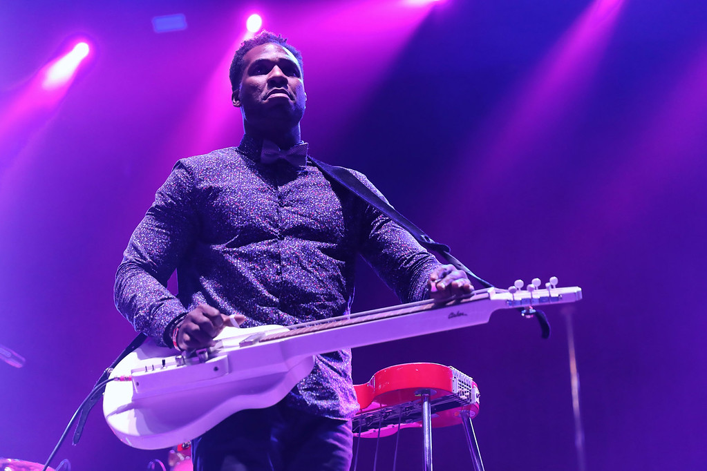 . Robert Randolph  live at Little Caesars Arena on 9-12-2017.  Photo credit: Ken Settle