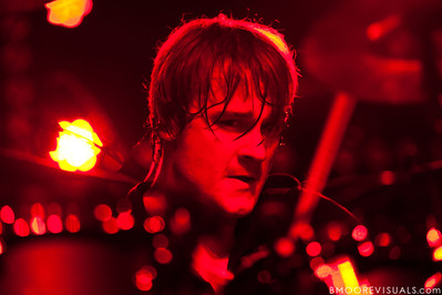 Paul Wandtke of Kill Hannah performs on July 21, 2010 at The Ritz in Ybor City, Tampa, Florida