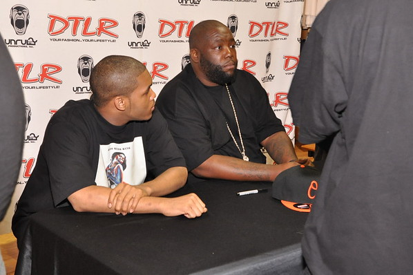 Killer Mike CD Signing DTLR South Dekalb