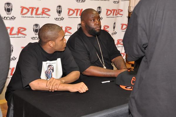 Killer Mike CD Signing DTLR South Dekalb