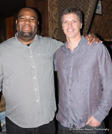 With guitar maestro Kirk Fletcher.