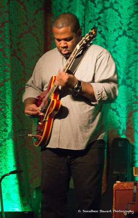 Kirk Fletcher digs into a solo