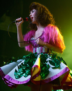 Kimbra performs at the Fonda Theatre in Hollywood, CA (October 3, 2012)