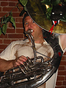 Kit Johnson, tuba