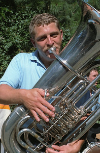 MWD Portrait: Kit Johnson Kit Johnson, tuba