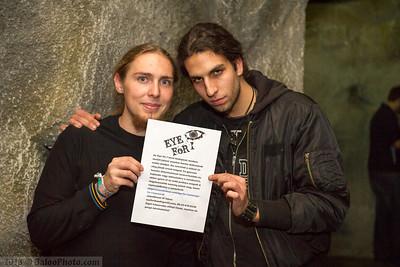 A jó (Mihalovits Levente) és a rossz (Csendőr Balázs) az Eye For I bandától elkaptak, hogy feladjanak egy hírdetést az oldalamon :) Íme!
