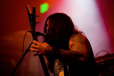 Krisiun, 4/11/2012, DNA Lounge, San Francisco