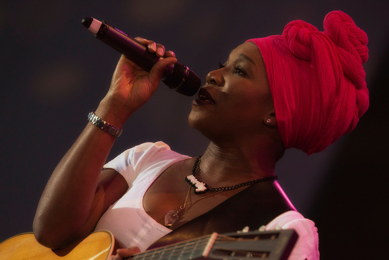 INDIA ARIE - Playboy Jazz Festival - June 15-16, 2013 - photos © Dailey Pike for LAJazz.com