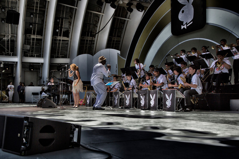 THE LAUSD BEYOND THE BELL JAZZ BAND - Playboy Jazz Festival - June 15-16, 2013 - photos © Dailey Pike for LAJazz.com