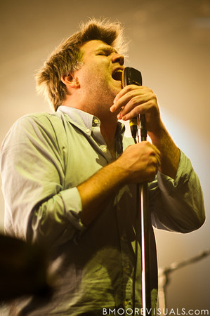 James Murphy of LCD Soundsystem performs on October 5, 2010 at Hard Rock Live in Orlando, Florida.