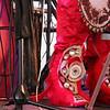 chief Shaka Zulu's beaded footwear