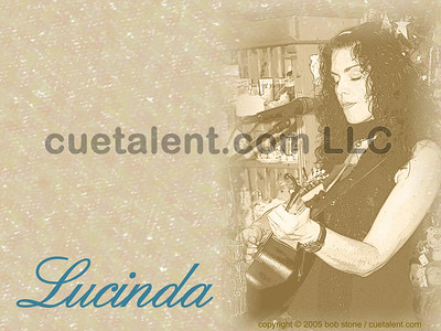 LUCINDA at BANK STREET COFFEE HOUSE, 56 Bank Street, New Milford, CT (860) 350-8920 - December 3, 2005