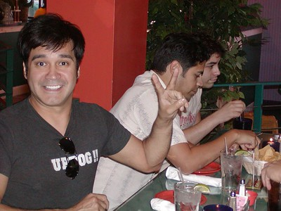 La Mafia Meet and Greet at Mario's in San Antonio 5-15-2004