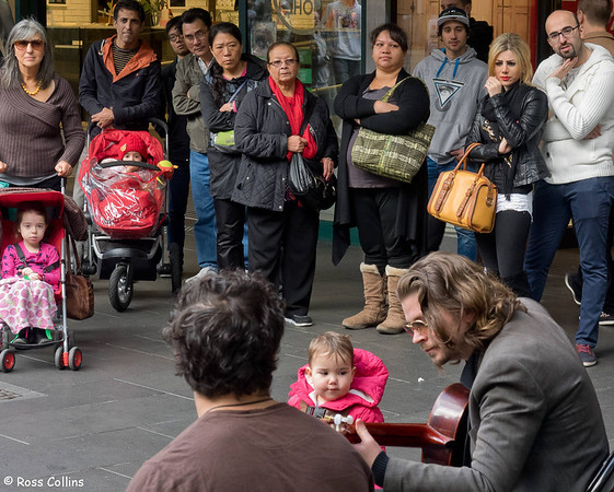 La Rumba in the Bourke Street Mall, Melbourne, 9 June 2014