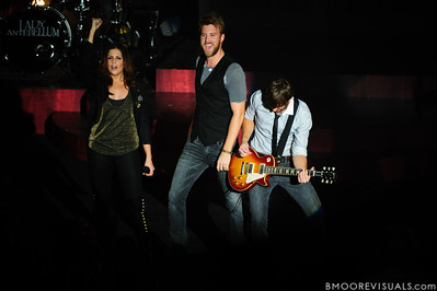 Lady Antebellum perform at Ruth Eckerd Hall in Clearwater, Florida on September 21, 2010