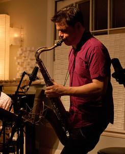 Lage Lund & Seamus Blake at Daly Jazz, 3/2012