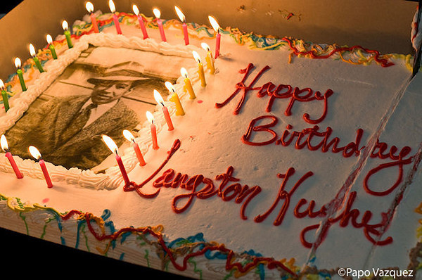 Langston Hughes Birthday Bash<br /> Langston Hughes Performing Art Center<br /> Seattle, Wa. 2/13
