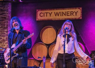 Larry Campbell, Teresa Williams, n Bill Payne @ City Winery 2-22-17