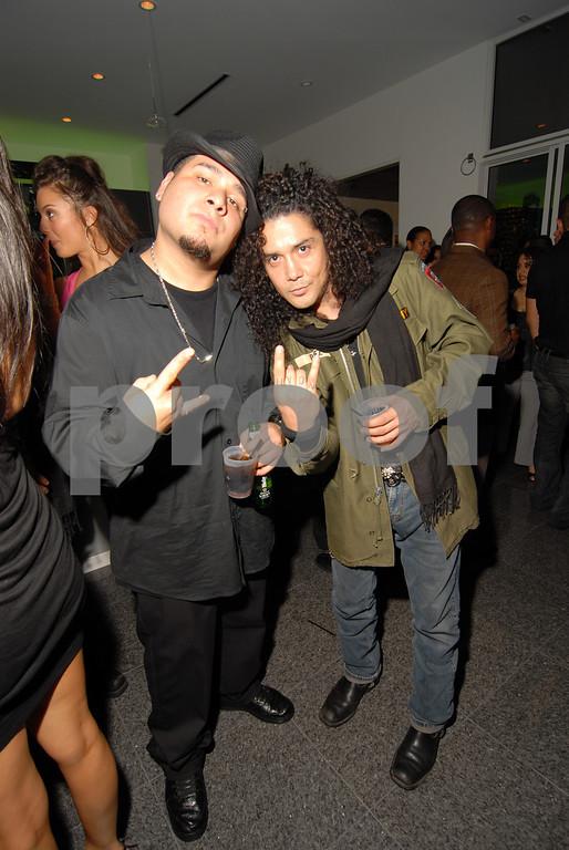 Chris Perez and Friend