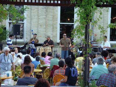 Latin Musica Night at Alterra. Performance by Naborí