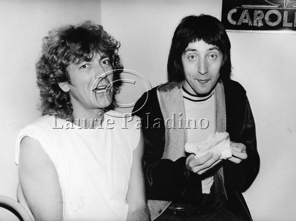 Robert Plant and Emo Phillips at Caroline's Comedy Club New York City