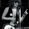 British musician and former lead singer of Mott The Hoople Ian Hunter performs live in concert in New York City