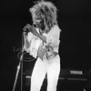 60's-80's music icon Tina Turner performs live in concert at Madison Square Garden in New York City 1985