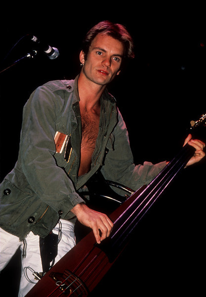 Police_lp_1001<br /> <br /> Sting performs with The Police at the Meadowlands Arena in the 1980's