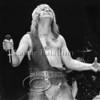 Rock singer Ozzy Osbourne live in concert at Madison Square Garden 1982