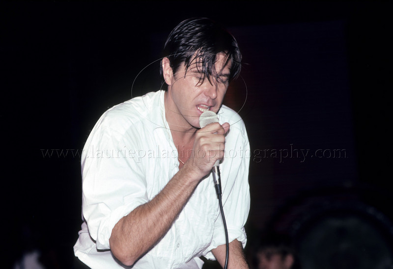 Former lead singer of Roxy Music Bryan Ferry performs live in concert at Radio City Music Hall in New York City photographed by Laurie Paladino