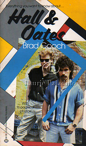 "Daryl Hall and John Oates photographed by Laurie Paladino on the cover of the 1984 book, ""Hall and Oates"" by author Brad Gooch."