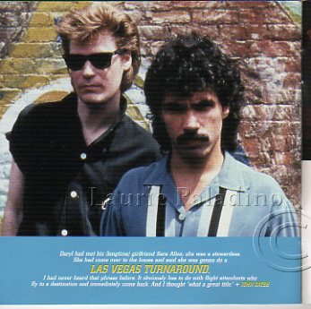 Daryl Hall and John Oates photo in Ultimate Daryl Hall & John Oates CD reissue