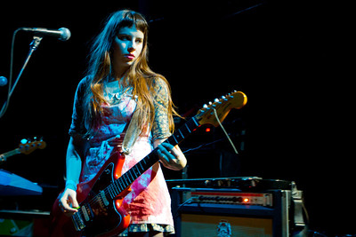 Le Butcherettes  6/29/2011 Great American Music Hall, San Francisco  http://www.skaffari.fi