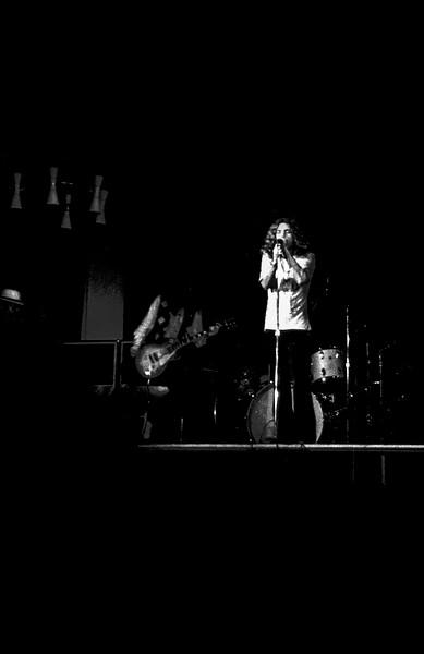 Led Zeppelin at University of Leeds, 1970