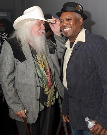 Rock and Roll Hall of Fame...Leon Russell and Booker T.