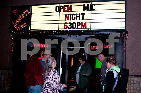 Lestat's Open Mic 1/20/2014