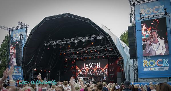 Lets Rock Shrewsbury 2018 - Jason Donovan-17