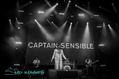 Lets Rock '19 - Captain Sensible ©Mike Dean-7