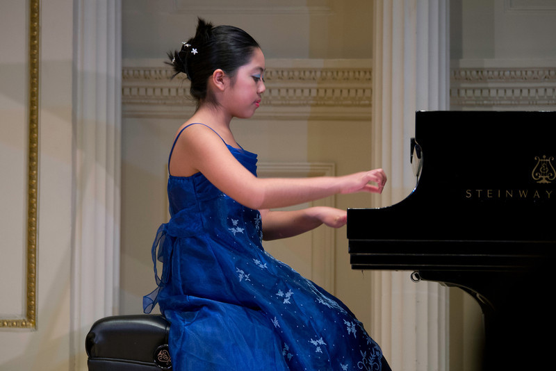 Liesl performing Mozart's Sonata in C Major, K. 545