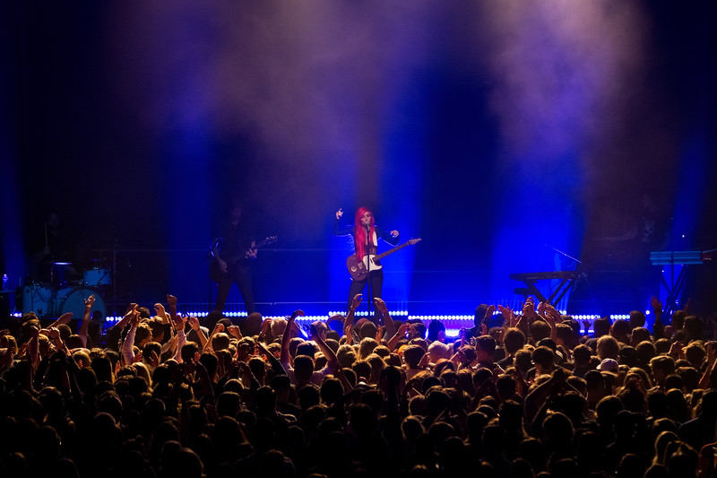 Young the Giant fall tour with very special guest, Lights at the Egyptian Room in the Old National Centre in Indianapolis, IN on October 26, 2018