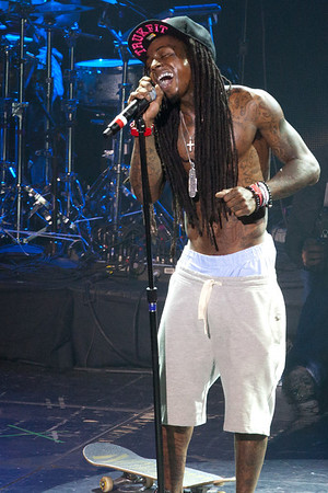"Lil Wayne's ""DEWeezy Showcase"" at the Austin Music Hall in Austin TX for SXSW 2012"