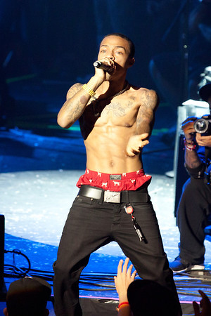 """Rapper Bow Wow performing at Lil Wayne's """"DEWeezy Showcase"""" at the Austin Music Hall in Austin TX for SXSW 2012"""