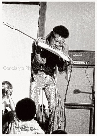 Jimi Hendrix 5-25-1969 Santa Clara Northern California Folk-Rock Festival