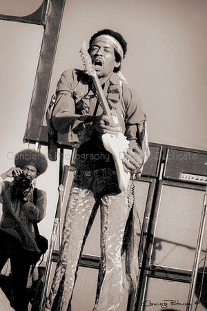 Jimi Hendrix 5-25-1969 Santa Clara Northern California Folk-Rock Festival.