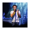 Childish Gambino lights it up