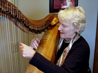 Linda Larkin, Harpist, Santa Fe, New Mexico